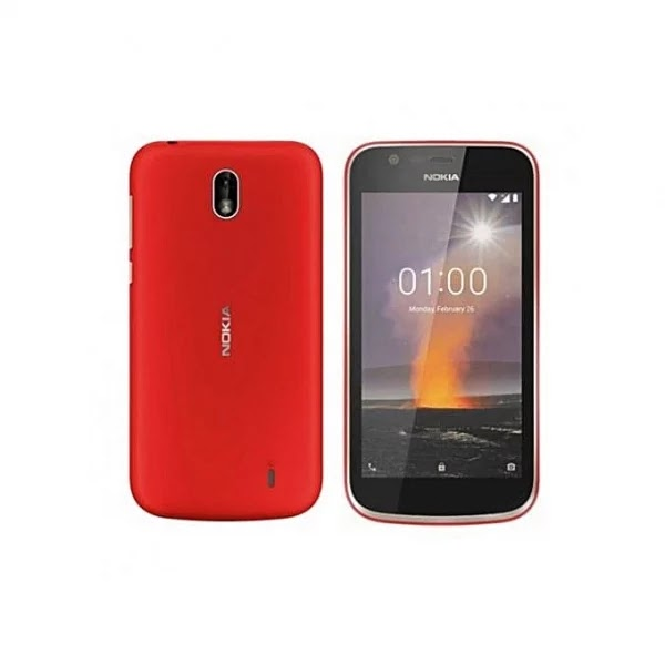 Nokia 1 - 2018 -1GB -8GB ROM - Android 8.0 - 5MP + 2MP - Red (₦16,500)