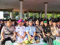Kombes Pol Dr Dadang Hartanto SH SIK MSi hadiri Upacara Bendera Hari jadi Ke 429 Kota Medan