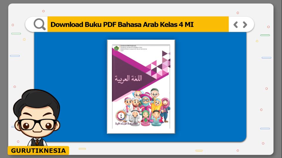 download buku pdf bahasa arab kelas 4 mi