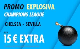 Suertia promo Chelsea vs Sevilla 20 octubre 2020