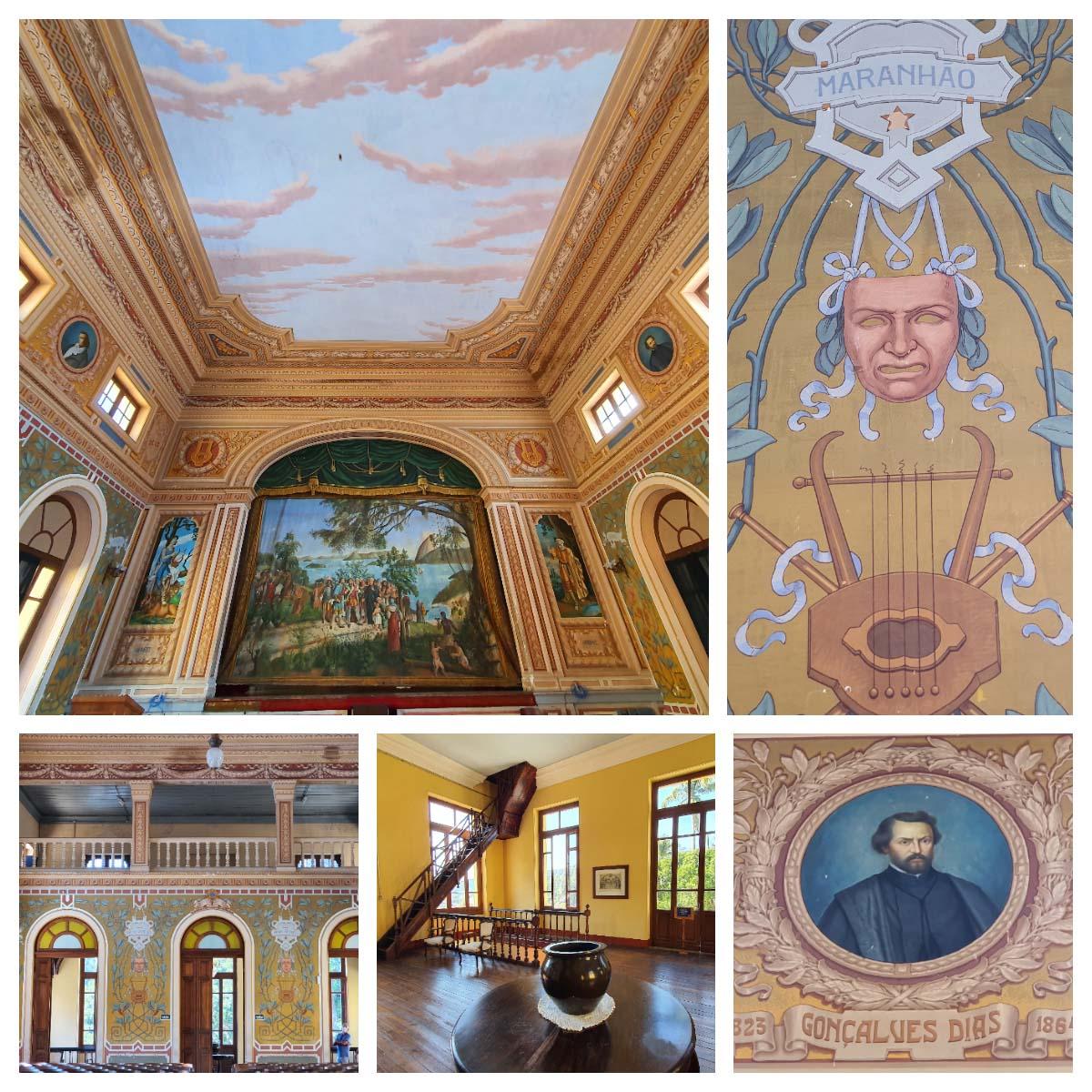 Teatro Eugênia no colégio Anchieta em Nova Friburgo.