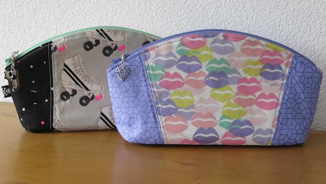 Luna Lovequilts - Petal Pouch pattern by Noodlehead