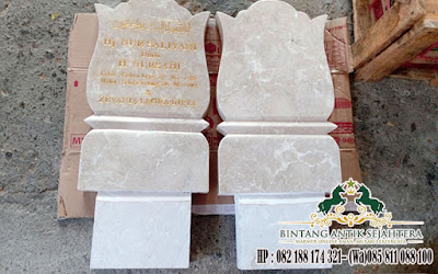 Nisan Kuburan Muslim, Harga Nisan Kuburan, Nisan Marmer Tulungagung