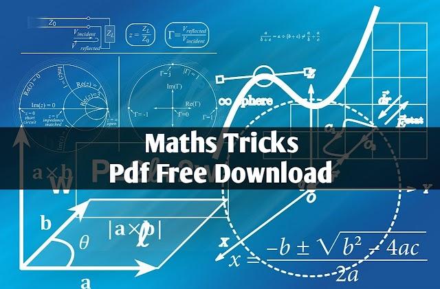 Free PDF Download - Maths tricks in Hindi