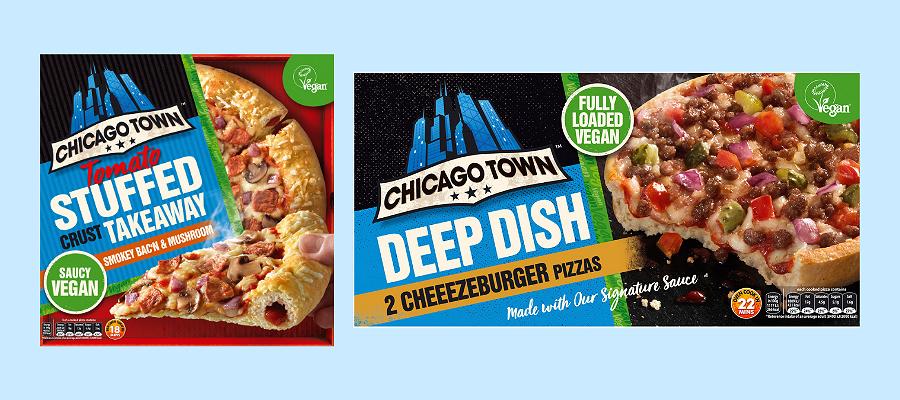 Vegan Chicago Town Pizza