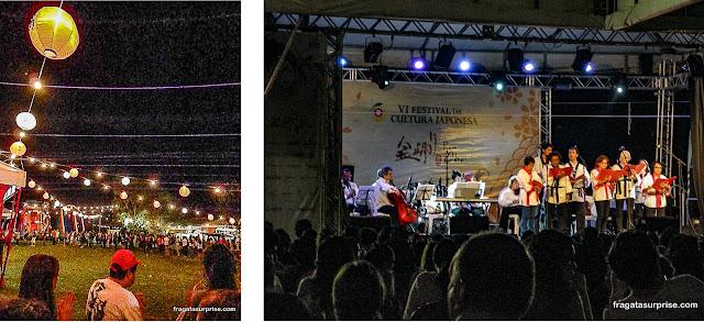 Roda do Odori no Festival Japonês de Salvador