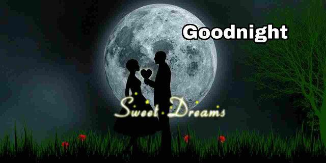 Beautiful romantic sweet dreams Good Night Image