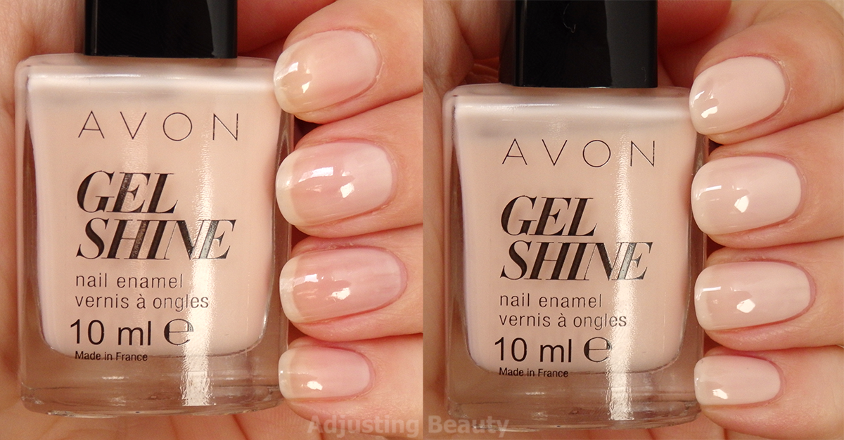Review Avon Gel Shine Nail Enamels Whole Collection Adjusting Beauty