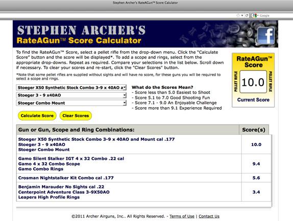 Archer on Airguns: 2011