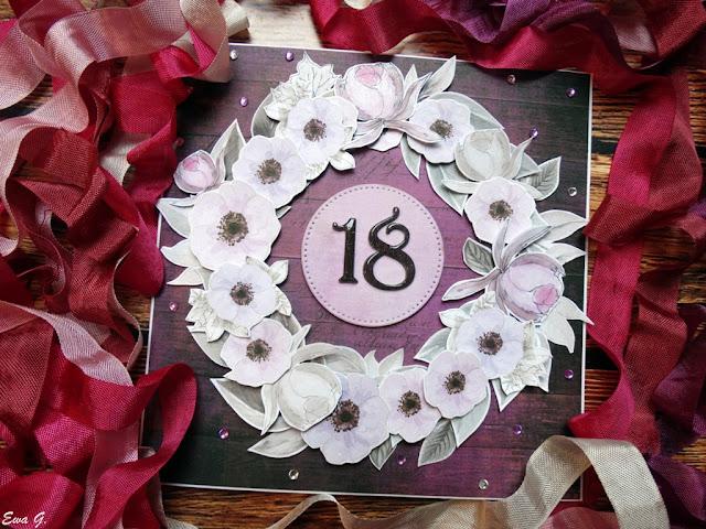 Kartka na 18. urodziny