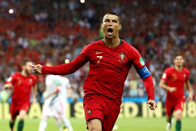 Golazo! Cristiano Ronaldo hattrick | Portugal 3-3 Spain (Video)