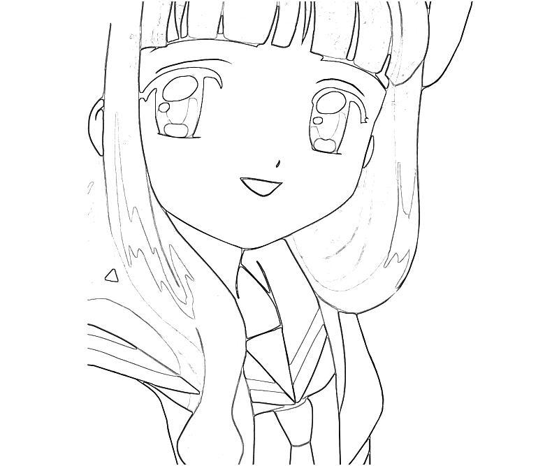 Cardcaptor sakura tomoyo daidouji cartoon mario for Cardcaptor sakura coloring pages