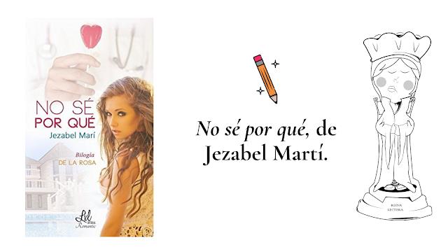 libro No sé por qué Jezabel Martí