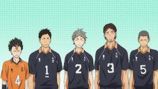 ハイキュー!! アニメ 2期12話 烏野高校 | HAIKYU!!  Ohgiminami high vs Karasuno
