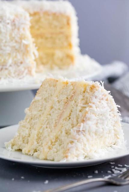 Homemade Coconut Cake