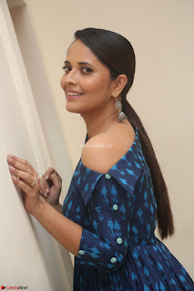 Anchor Anasuya in a Blue Gown at Jai Lava Kusa Trailer Launch ~  Exclusive Celebrities Galleries 049.JPG