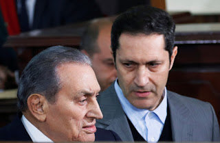 نجل الرئيس السابق حسني مبارك يكشف تطورات الحالة الصحية لوالده