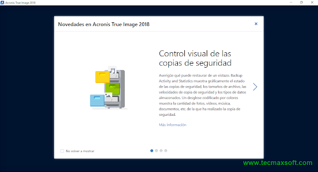 descargar Acronis True Image 2018 Full Crack Captura 2