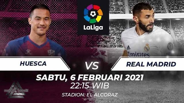 Prediksi SD Huesca Vs Real Madrid