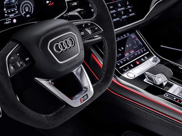 Audi RS Q8: um SUV para acelerar de 0 a 100 em 3,8s