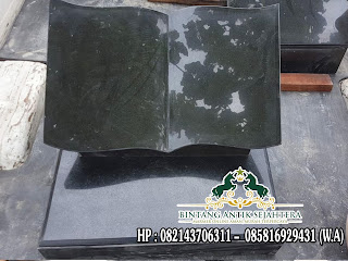 Batu Nisan Granit Buku