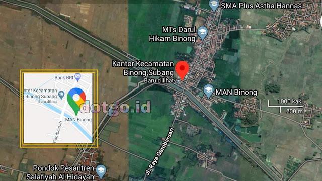Kecamatan Binong Subang, Daftar Desa dan Kode Pos Kecamatan Binong Kabupaten Subang