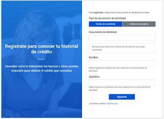 Enbanca consultar Historial de credito gratis