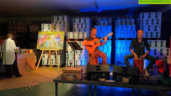 El festival cultural 'Enoritmos' arranca en las Bodegas Teneguía