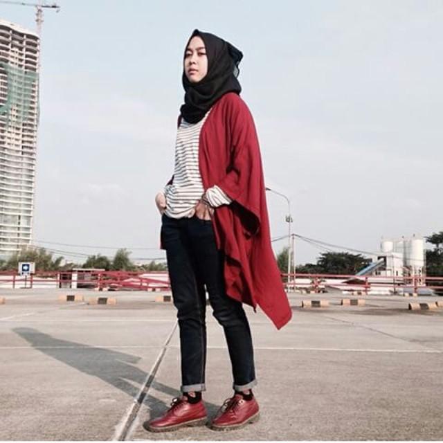 Contoh Cardigan  Panjang Untuk Wanita Modern