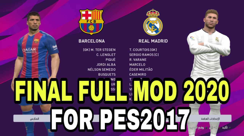 PES2017 Final Full Mod Season 2019-2020