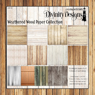 Divinity Designs Weathered Wood Paper Collection
