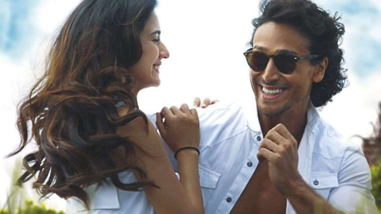 """New Clebe Video: Tiger Shroff is """"clean"""" bowled by Disha Patani sizzling dance video"""