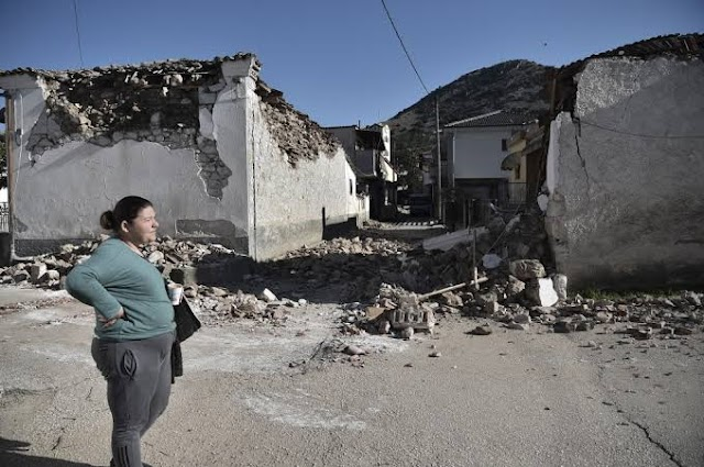 Earthquake News : At least 900 homes were destroyed in two earthquakes in  Greace