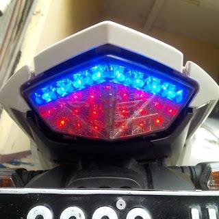 Modifikasi Lampu Motor Agar Lebih Terang dan Keren