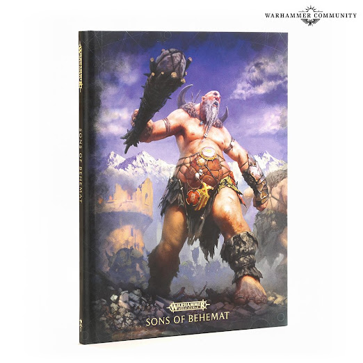 battletome Sons of Behemat  edciión especial