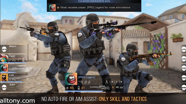تحميل لعبة المواجهة Standoff 2 للكمبيوتر والأيفون والأندرويد APK