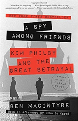 A Spy Among Friends by Ben Macintyre (Book cover)