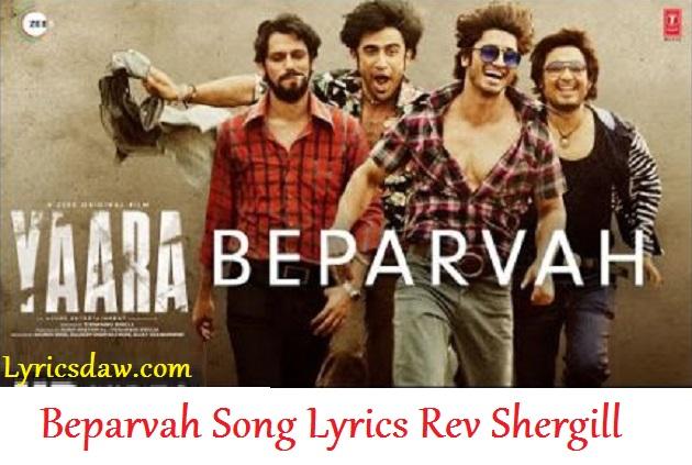 Beparvah Lyrics in hindi