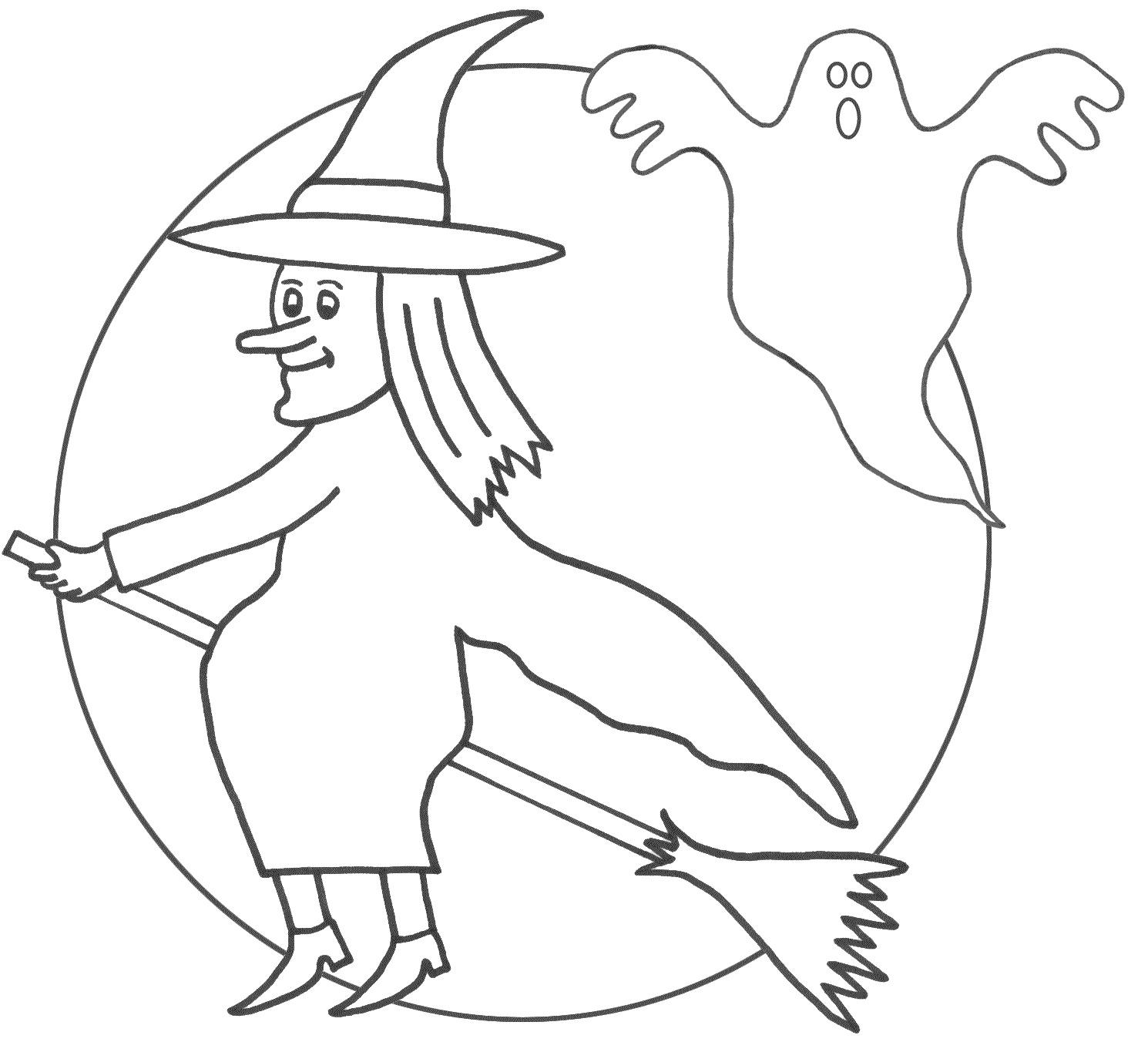 Desenhos Para Colorir E Imprimir: Desenhos Do Halloween