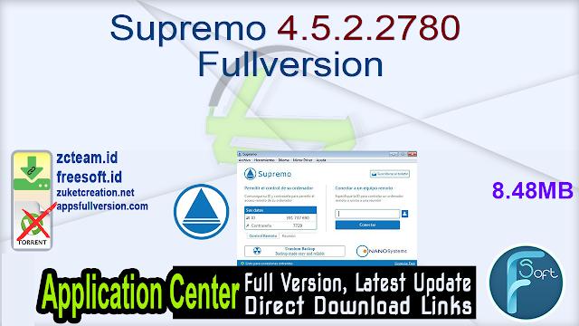 Supremo 4.5.2.2780 Fullversion