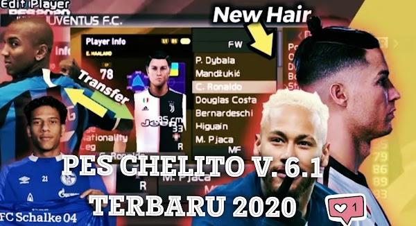 Game PPSSPP Terbaru 2020 Spesial Pes Chelito V6. 1, Beserta Cara Dowonload-nya