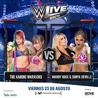 Luchas 1 WWE ¡En vivo!  Bogotá