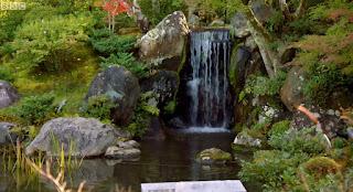 Tairyu-Sanso Garden Waterfall