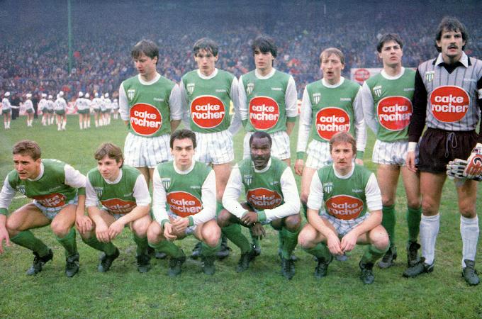 A.S SAINT-ETIENNE 1984-85.