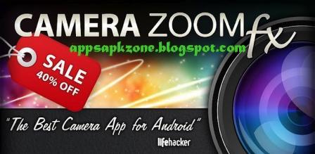 Android Apps Apk: Camera ZOOM FX V3 5 2 app on 2shared download