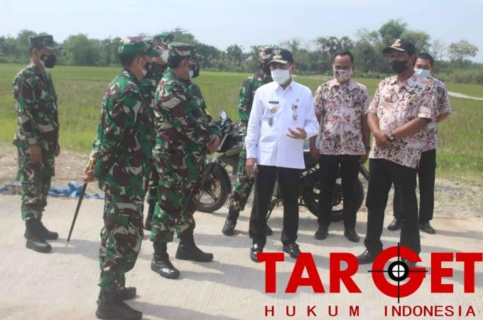 Kunjungan Tim Wasev PJO Bertujuan Tinjau Langsung Giat TMMD di Wilayah Kodim Pati
