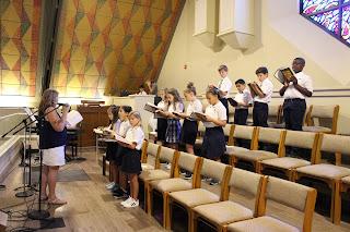 Montgomery Catholic Elementary Choirs Make Beautiful Music 2