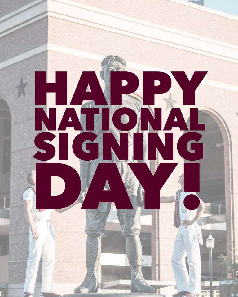 National Signing Day Wishes Awesome Picture