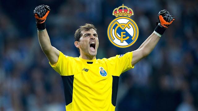 Iker Casillas Ingin Kembali Ke Real Madrid