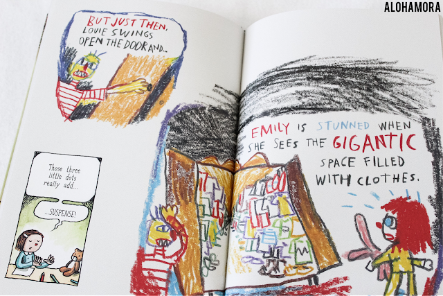 Written and Drawn by Henrietta by Liniers this graphic novel toon comic like book is great for teaching and stressing the example of the writing process.  Good for 2nd and 3rd graders.  Book review.. Alohamora Open a Book http://alohamoraopenabook.blogspot.com/